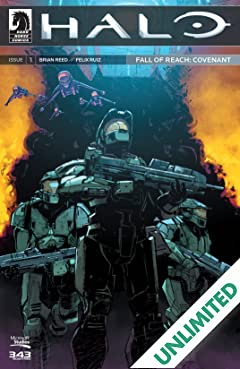 Halo: Fall of Reach -- Covenant #1