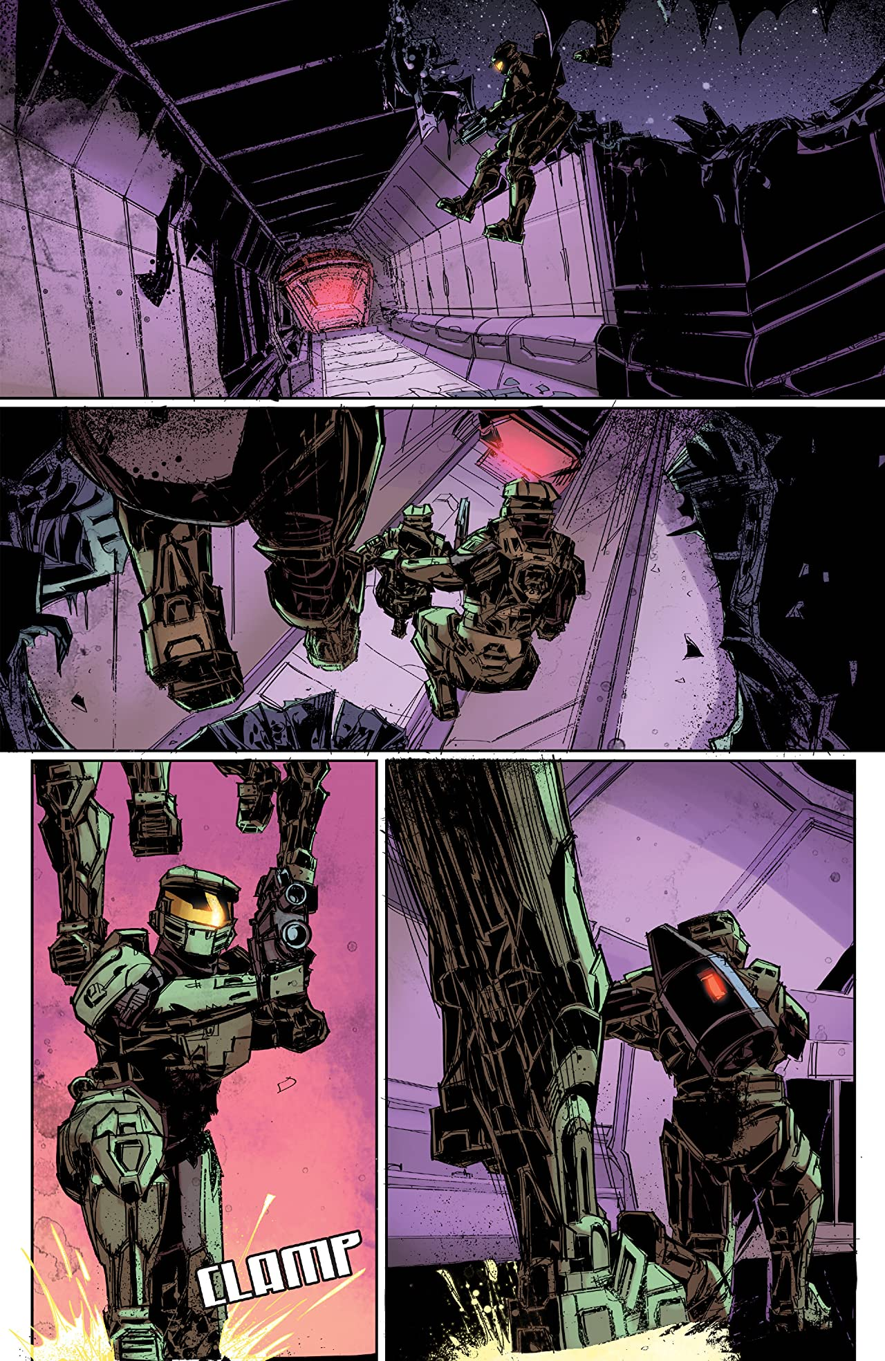 Halo: Fall of Reach -- Covenant #2