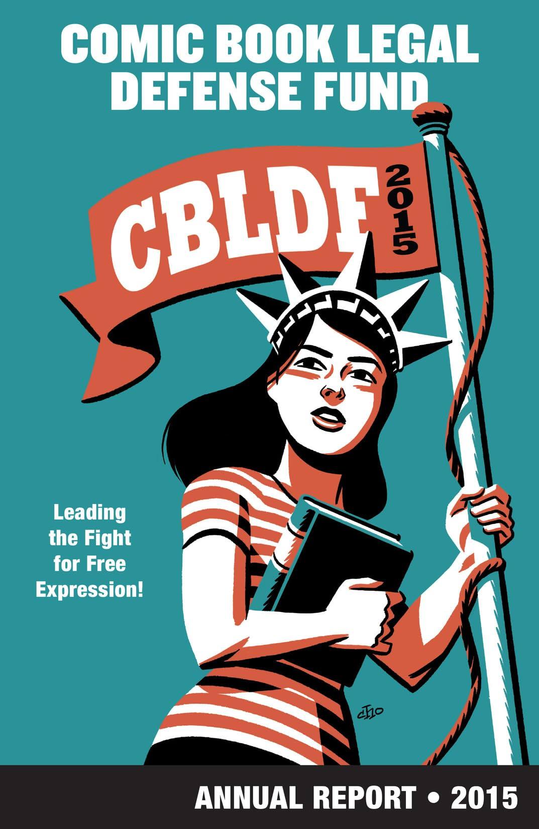 CBLDF Annual Report 2015