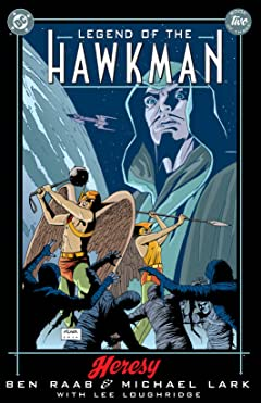 Legend of the Hawkman (2000) #2