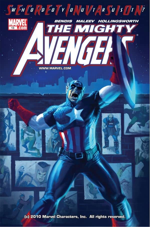Mighty Avengers (2007-2010) #13