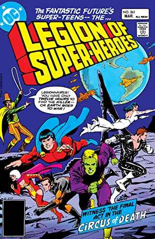Legion of Super-Heroes (1980-1985) #261
