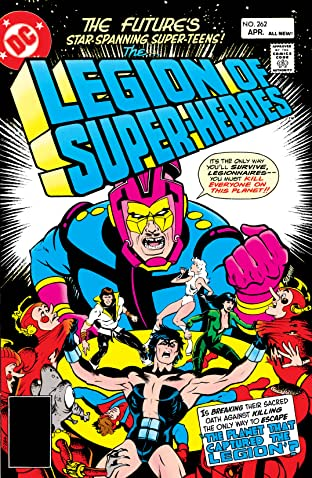 Legion of Super-Heroes (1980-1984) #262