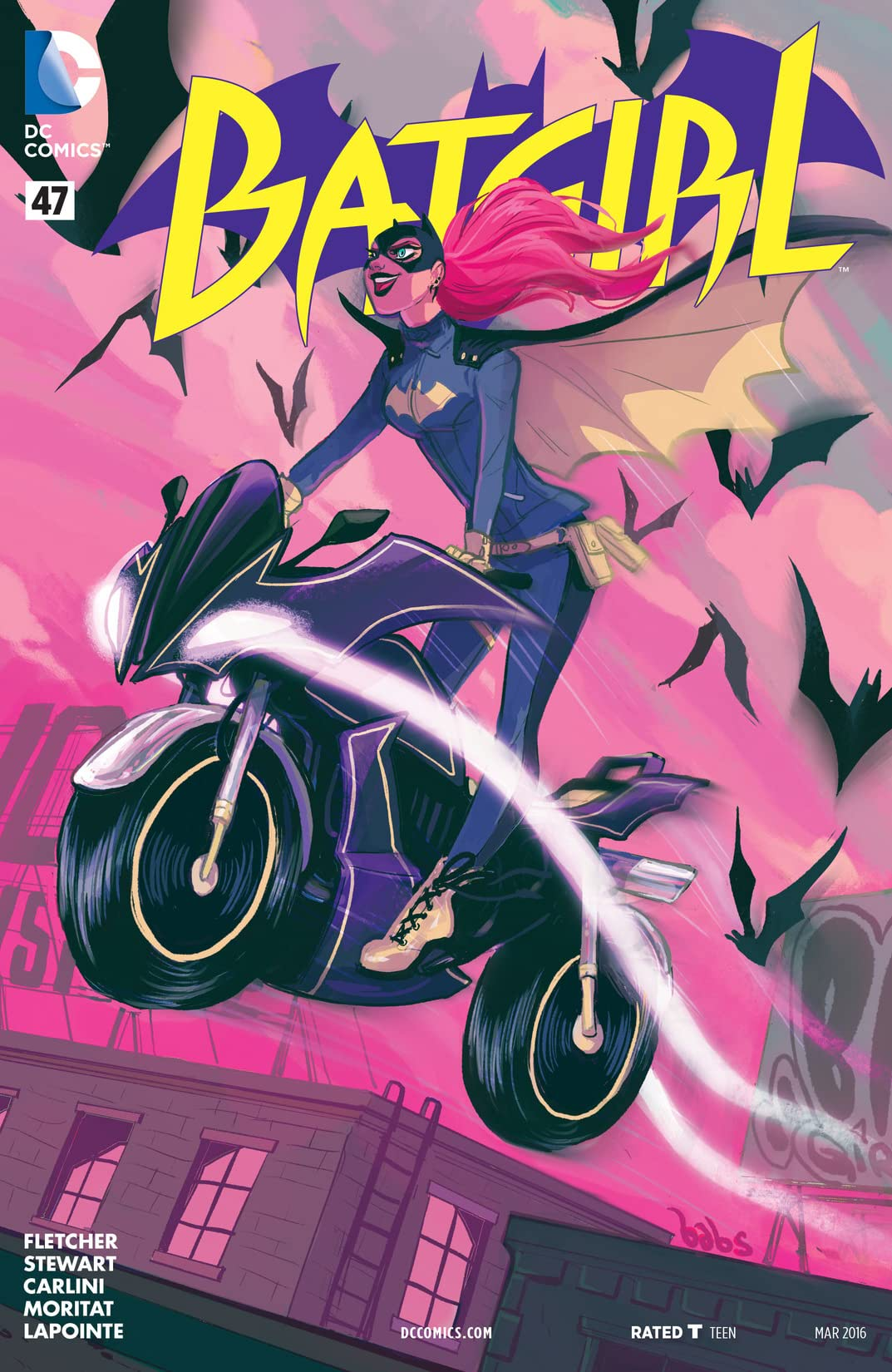 Batgirl (2011-2016) #47
