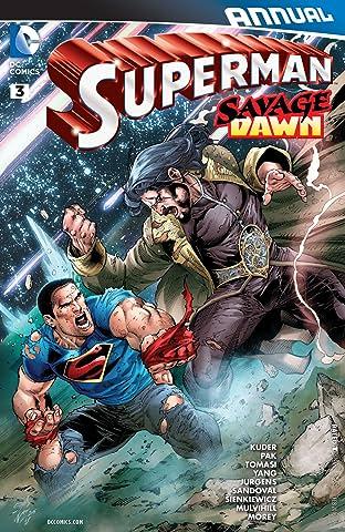 Superman (2011-2016): Annual #3