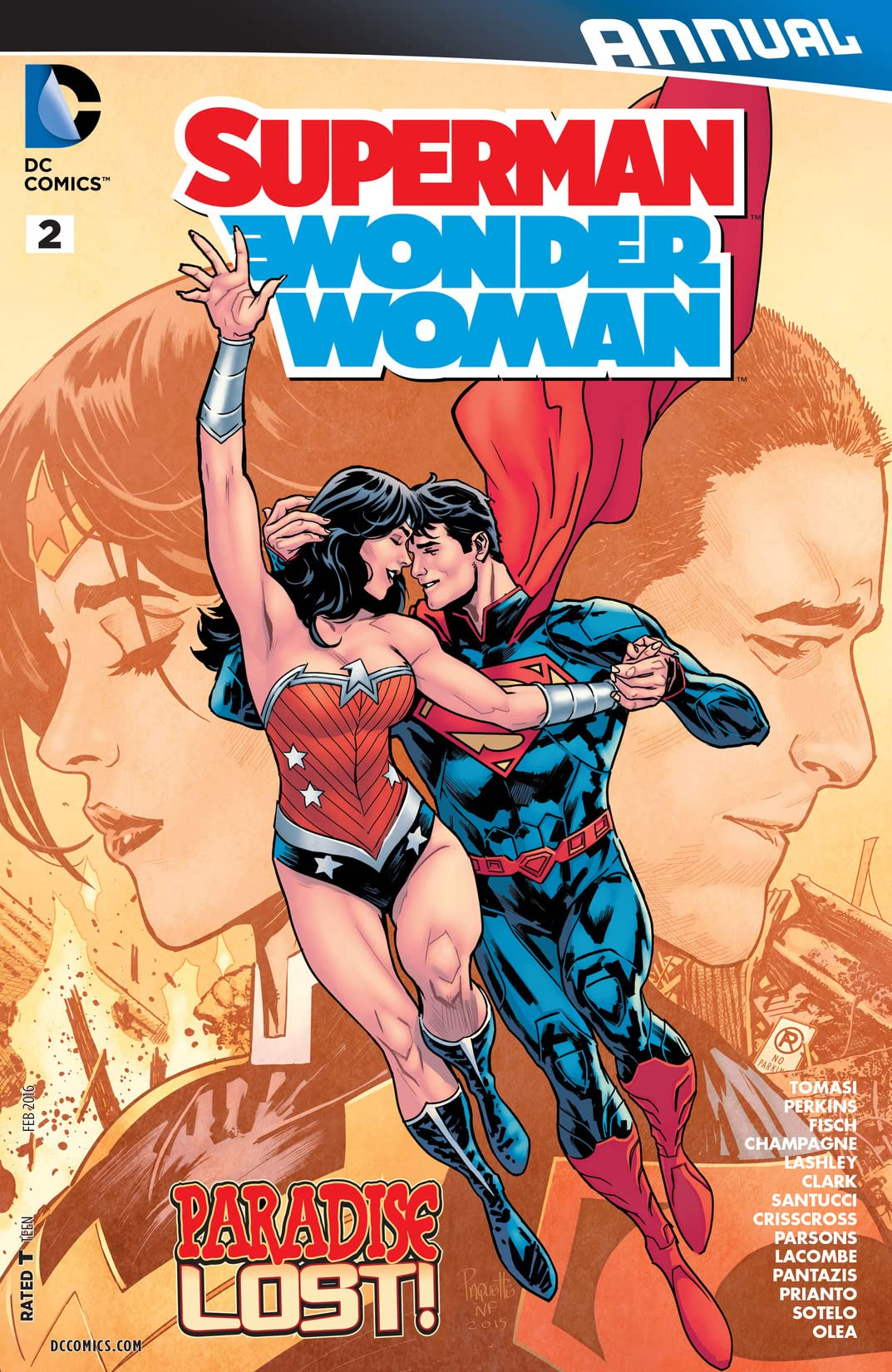 Superman/Wonder Woman (2013-2016): Annual #2