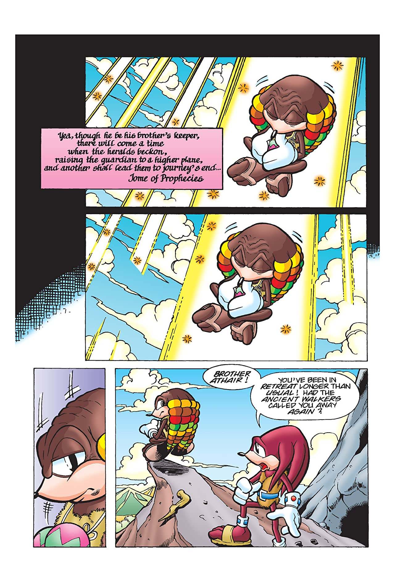 Knuckles the Echidna #10