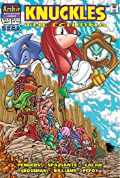 Knuckles the Echidna #12