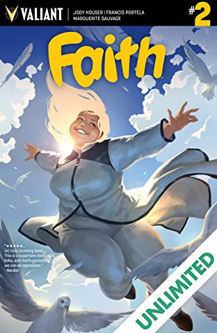 Faith #2: Digital Exclusives Edition