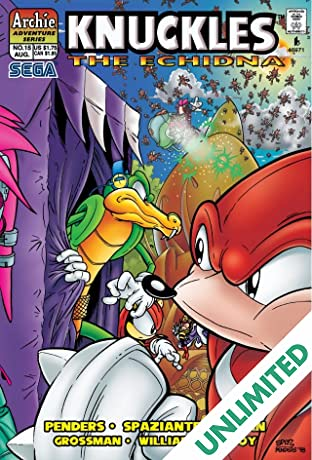 Knuckles the Echidna #15