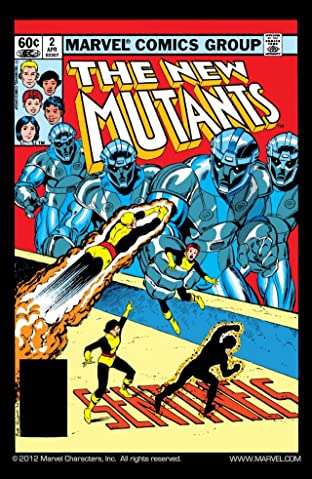 New Mutants (1983-1991) No.2