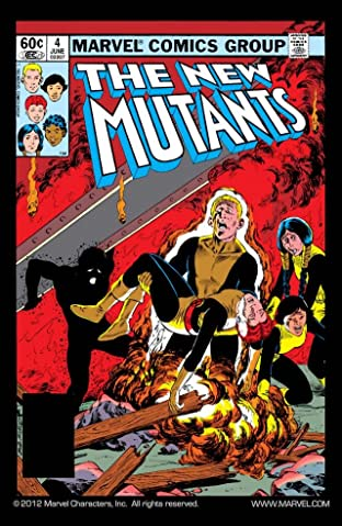 New Mutants (1983-1991) No.4