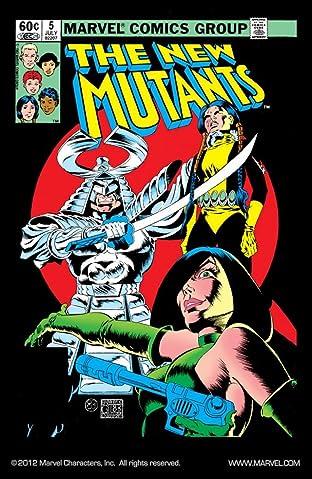 New Mutants (1983-1991) No.5