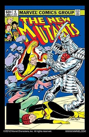 New Mutants (1983-1991) No.6