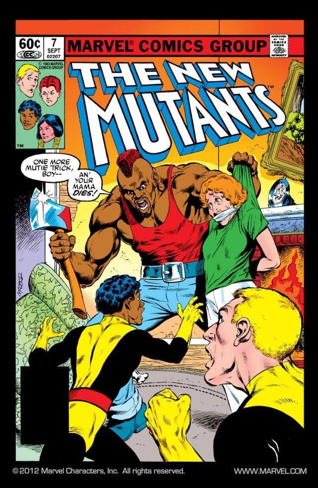 New Mutants (1983-1991) #7