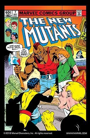 New Mutants (1983-1991) No.7