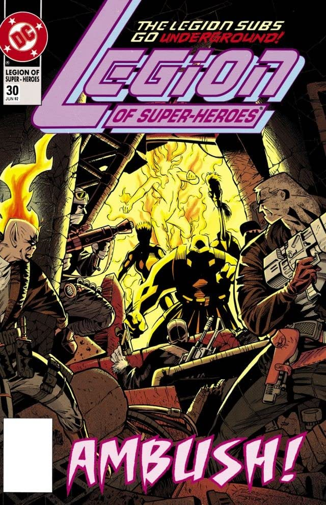Legion of Super-Heroes (1989-2000) #30