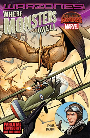 Where Monsters Dwell: The Phantom Eagle Flies The Savage Skies