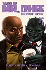 Tales of Mr. Rhee Vol. 3: Those Who Fight Monsters #1