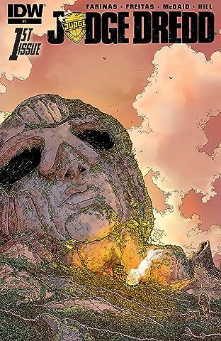 Judge Dredd (2015-2016) #1