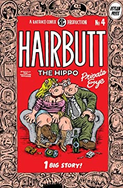 Hairbutt The Hippo #4