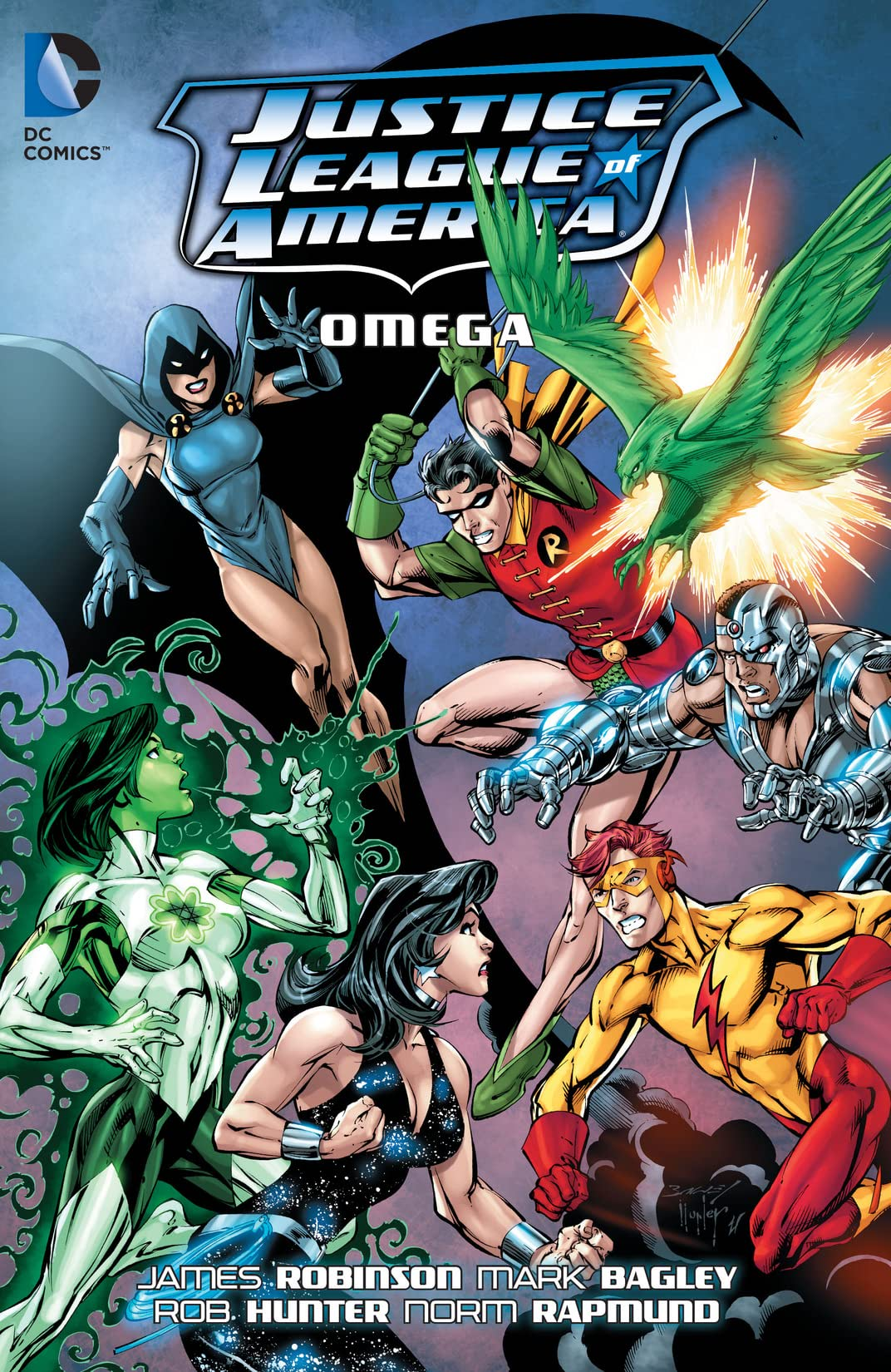 Justice League of America (2006-2011): Omega