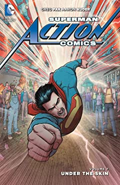 Superman - Action Comics (2011-2016) Vol. 7: Under the Skin
