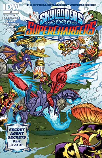 Skylanders: Superchargers #2