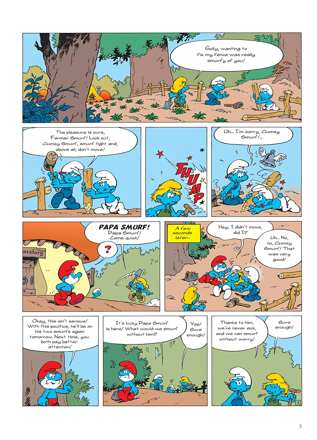 The Smurfs Vol. 20: Doctor Smurf