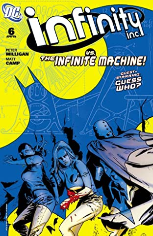 Infinity Inc. (2007-2008) #6