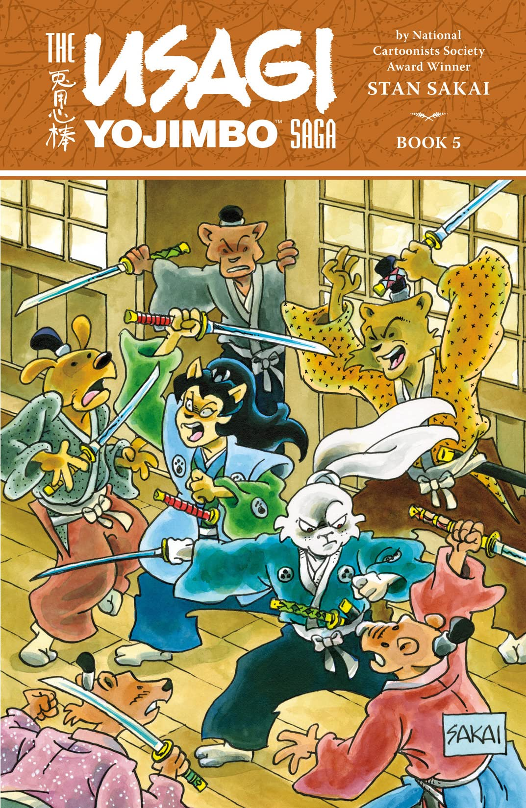 Usagi Yojimbo Saga Vol. 5