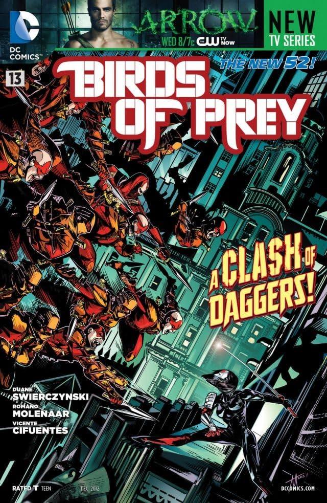 Birds of Prey (2011-2014) #13