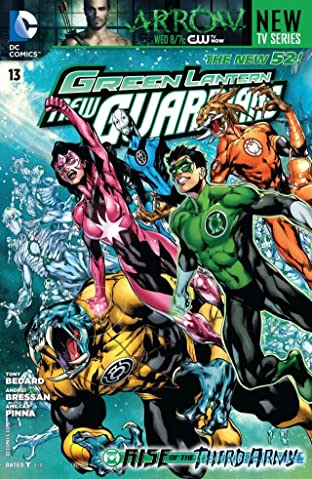 Green Lantern: New Guardians (2011-2015) No.13