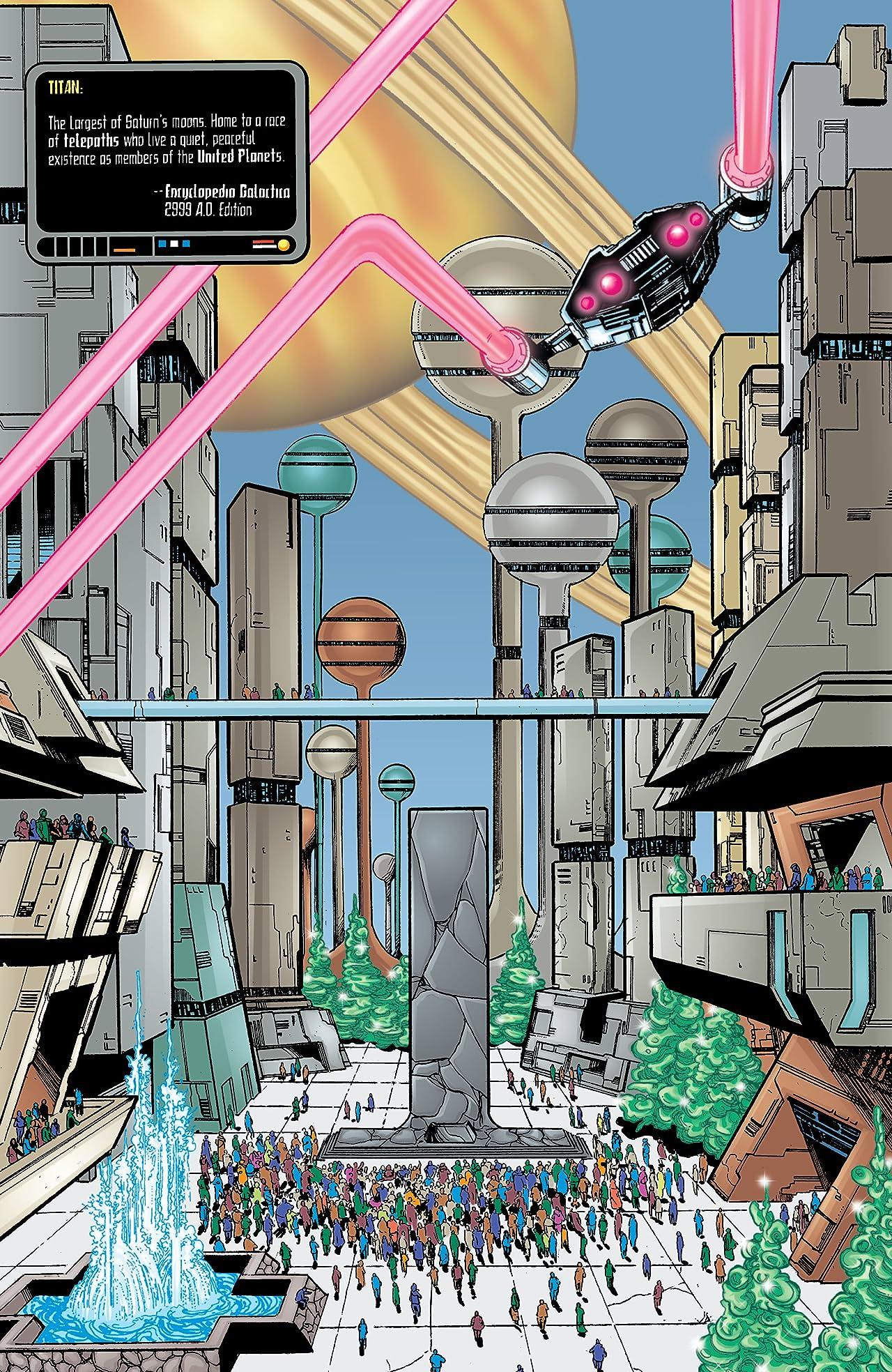 Titans/Legion of Superheroes: Universe Ablaze (2000) #1
