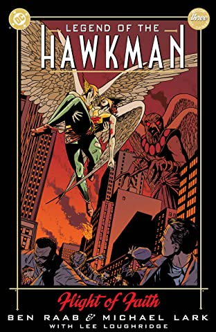 Legend of the Hawkman (2000) #3