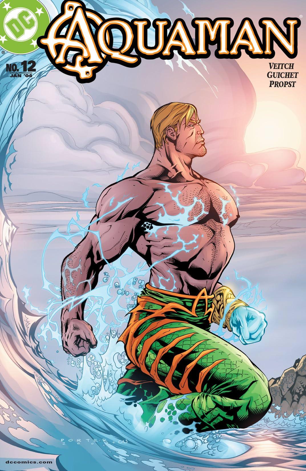 Aquaman (2003-2006) #12
