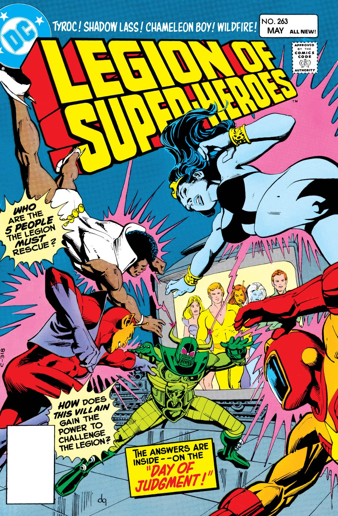 Legion of Super-Heroes (1980-1985) #263