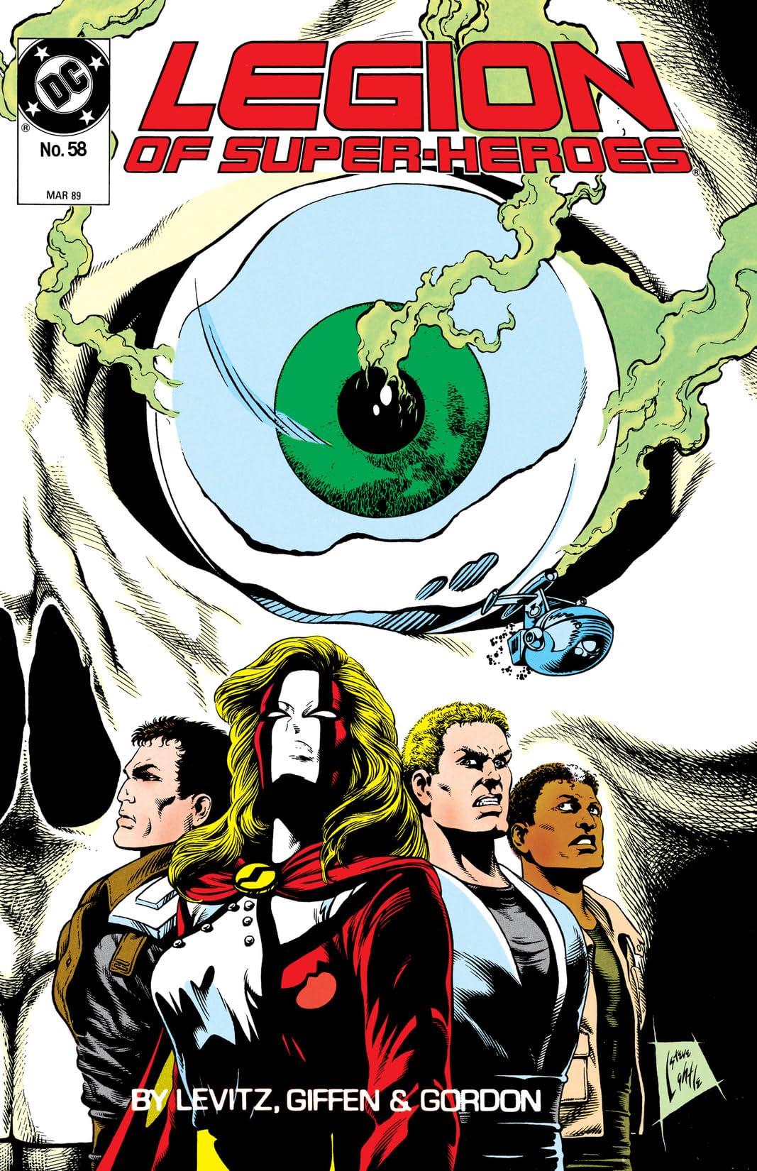 Legion of Super-Heroes (1984-1989) #58