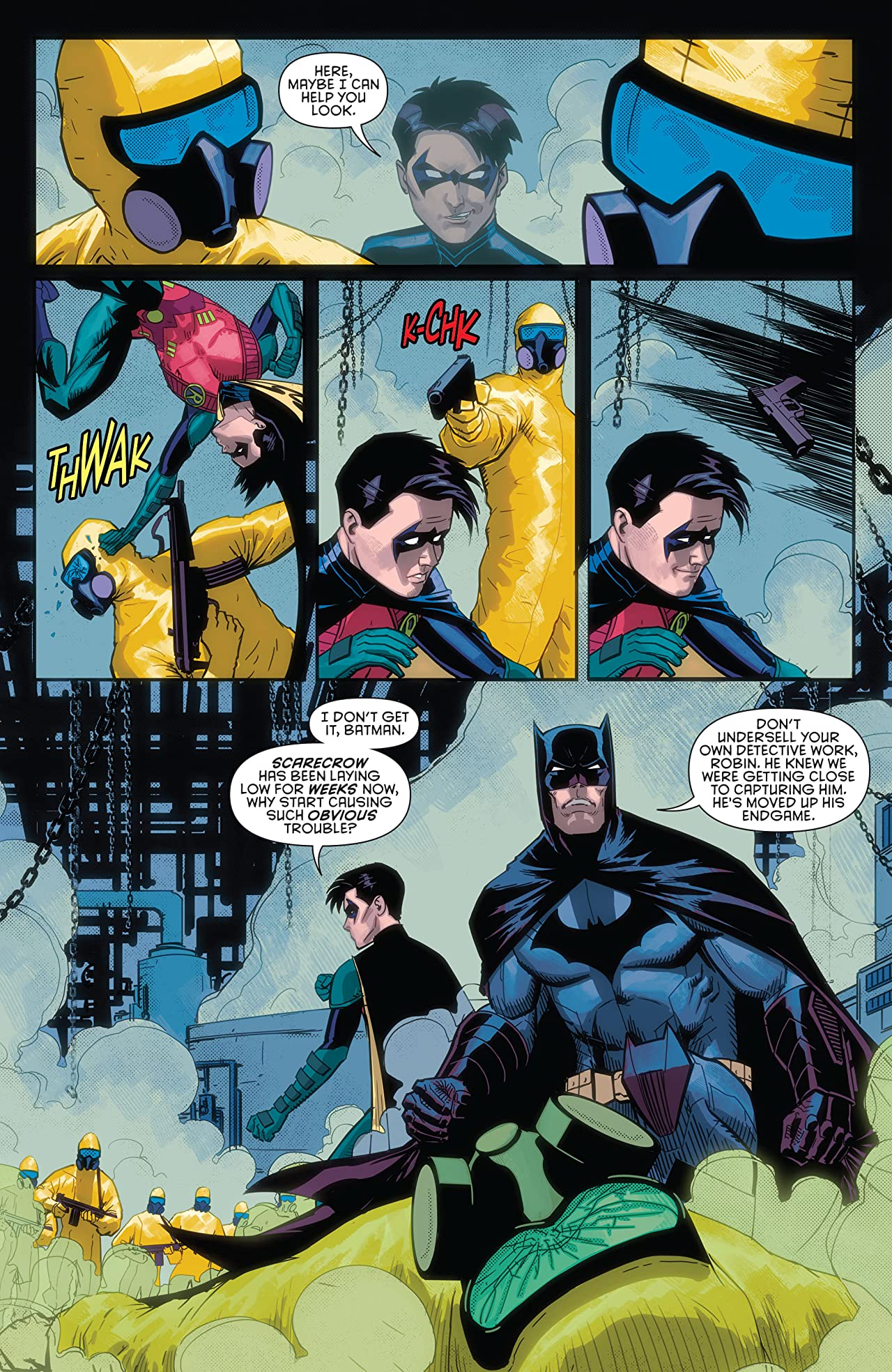 Batman & Robin Eternal (2015-2016) #14