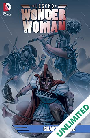 The Legend of Wonder Woman (2015-2016) #9