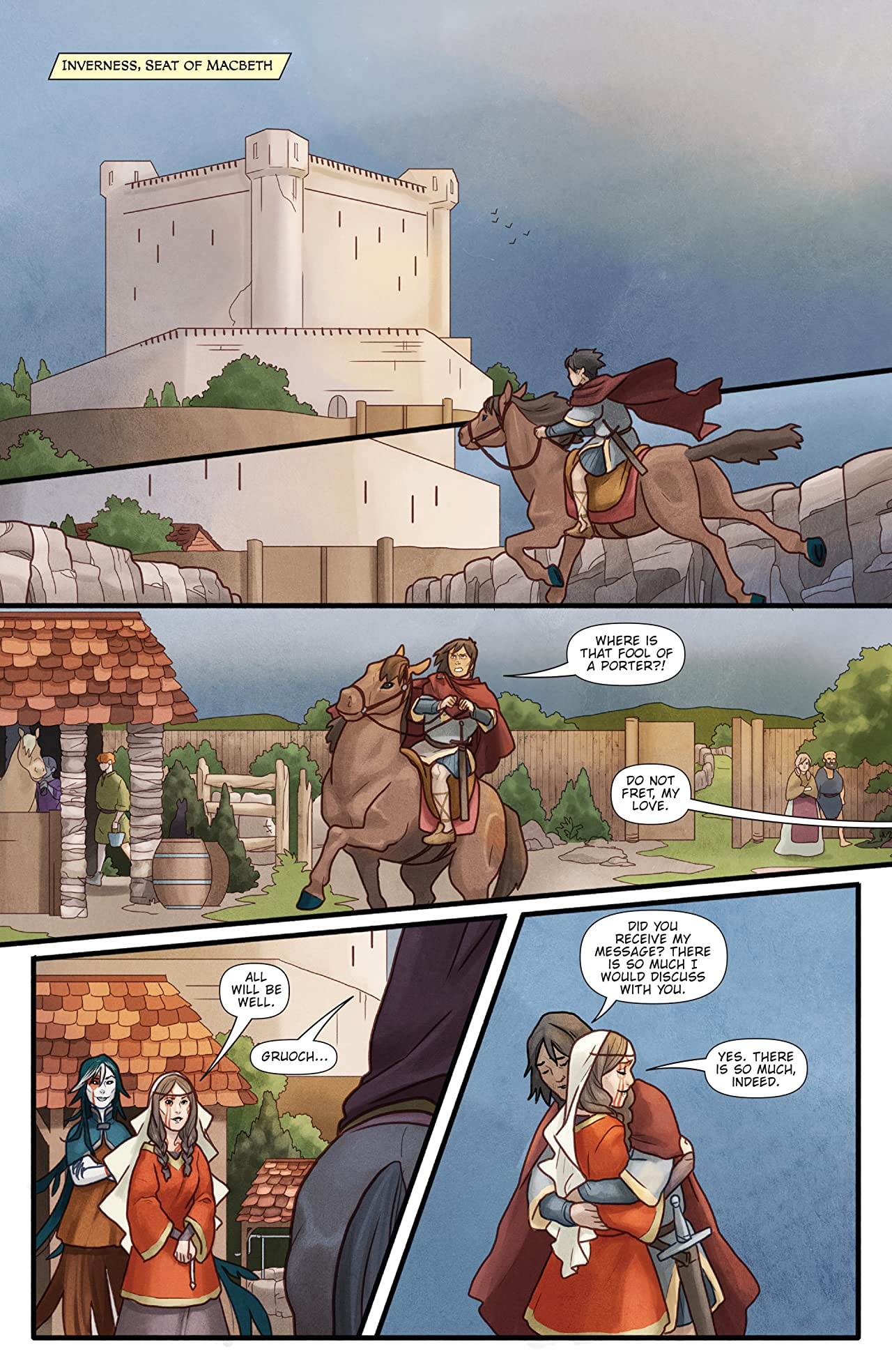 Toil and Trouble #4 (of 6)