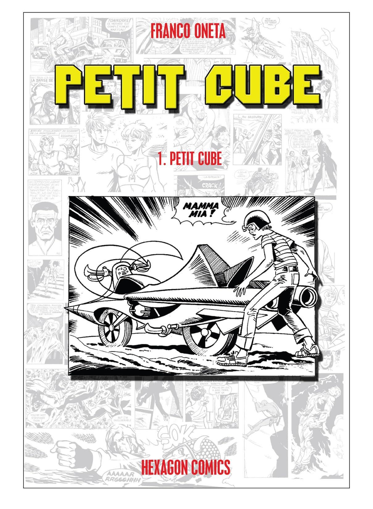 PETIT CUBE Vol. 1: Petit Cube