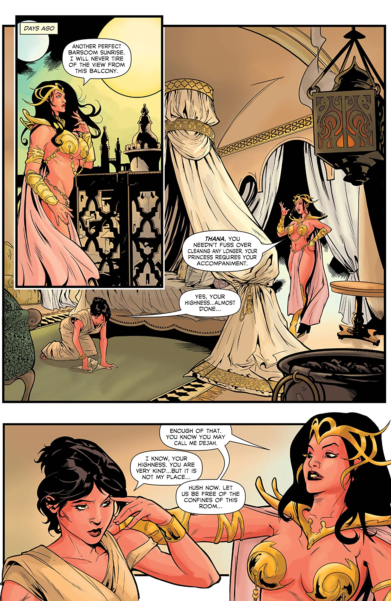 Dejah Thoris #1: Digital Exclusive Edition