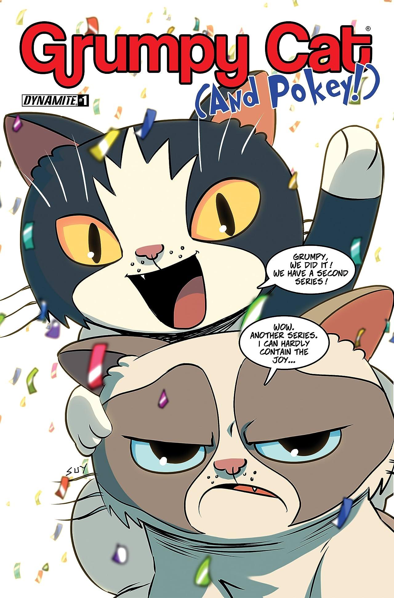 Grumpy Cat And Pokey Vol. 2 #1: Digital Exclusive Edition