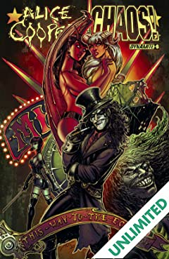 Alice Cooper Vs. Chaos #6: Digital Exclusive Edition