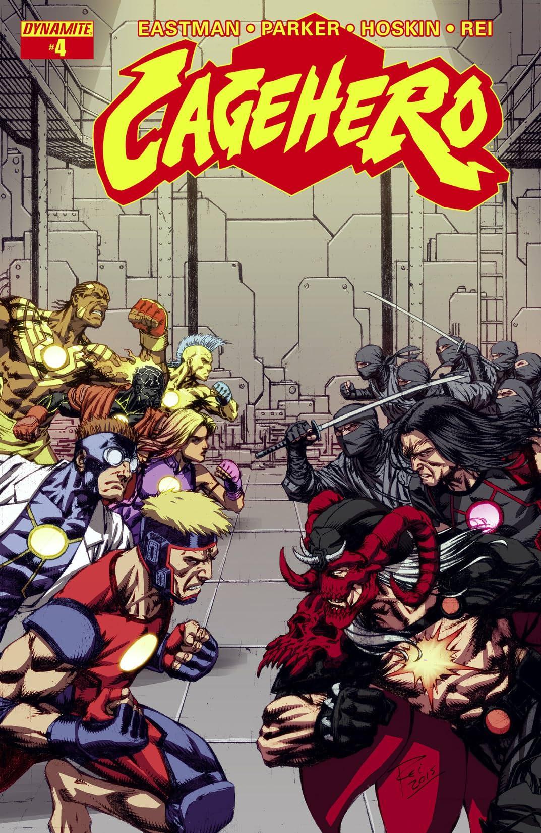 Cage Hero #4: Digital Exclusive Edition