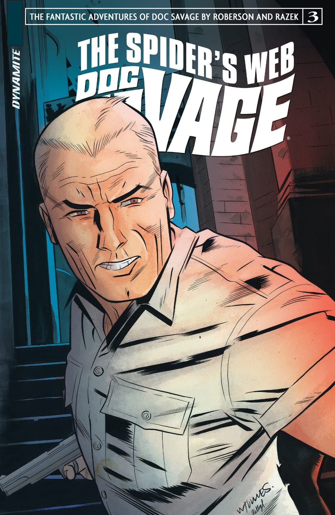Doc Savage: The Spider's Web #3: Digital Exclusive Edition