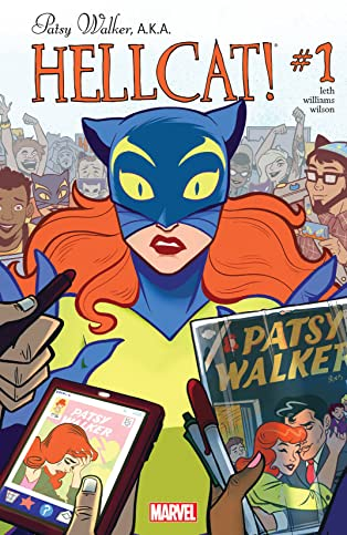Patsy Walker, A.K.A. Hellcat! (2015-2017) #1