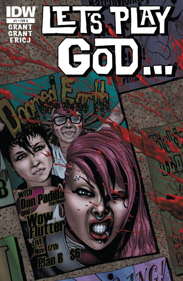 Let's Play God #1 (of 4)