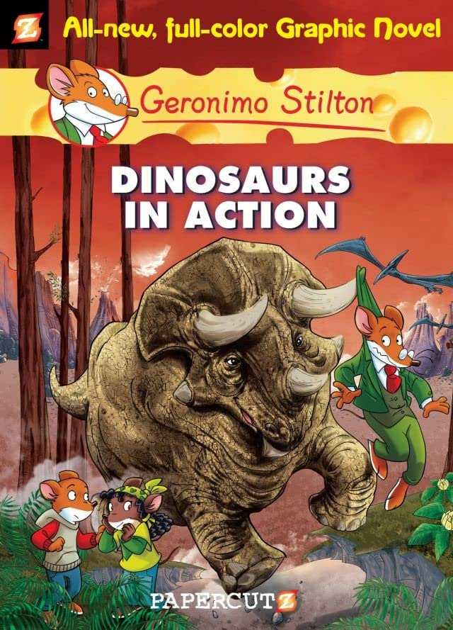 Geronimo Stilton Vol. 7: Dinosaurs In Action
